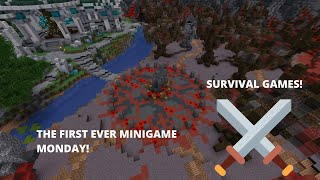 THE SURVIVAL GAMES!!!! (Minigame Monday)