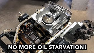 How To Baffle An Oil Pan - Honda K-Swap 240SX