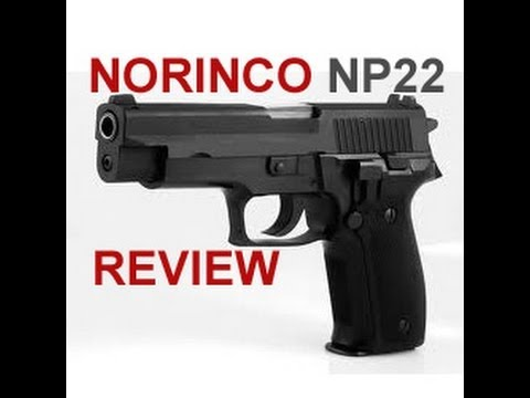 Norinco Np22 Review Sig Sauer P226 Clone Youtube