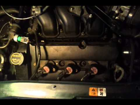 Ford 3 0l Engine Diagram Engine Knock On My 2001 Ford Escape V6 3 0l Youtube