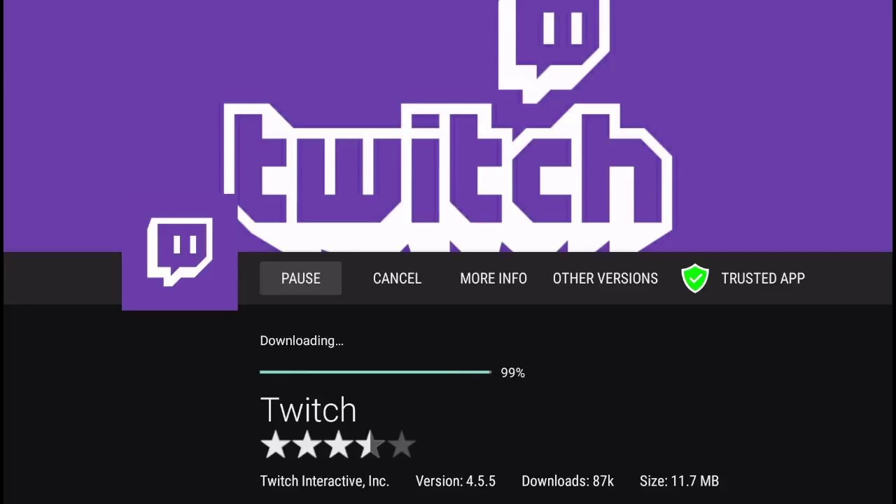 Easiest way to download Twitch tv APK on Amazon Fire