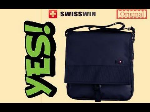 МУЖСКАЯ СУМКА ЧЕРЕЗ ПЛЕЧО SWISSWIN Aliexpress polo bag  деловой портфель  новый стиль и бренд  Китай