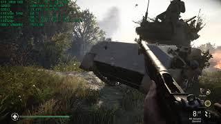 Call of Duty WWII Geforce GTX 1060 6GB Zotac AMP Edition AMD FX 8320e 3.2 Ghz