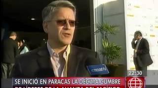 América Noticias: Se inició en Paracas la décima Cumbre de Líderes de la Alianza del Pacífico