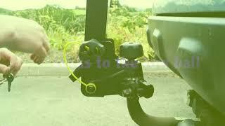 видео Велобагажник на фаркоп flexfix