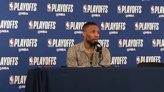 Thunder vs Blazers Game 3 - Damian Lillard full