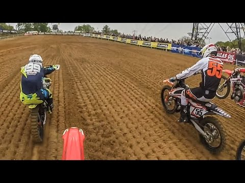 Mind blowing 2 stroke Motocross racing on 15 year old bike