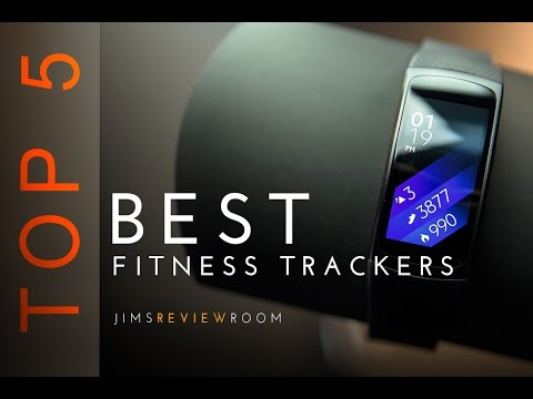 TOP 5 Best Fitness Bands / Activity TRACKERS - August 2016