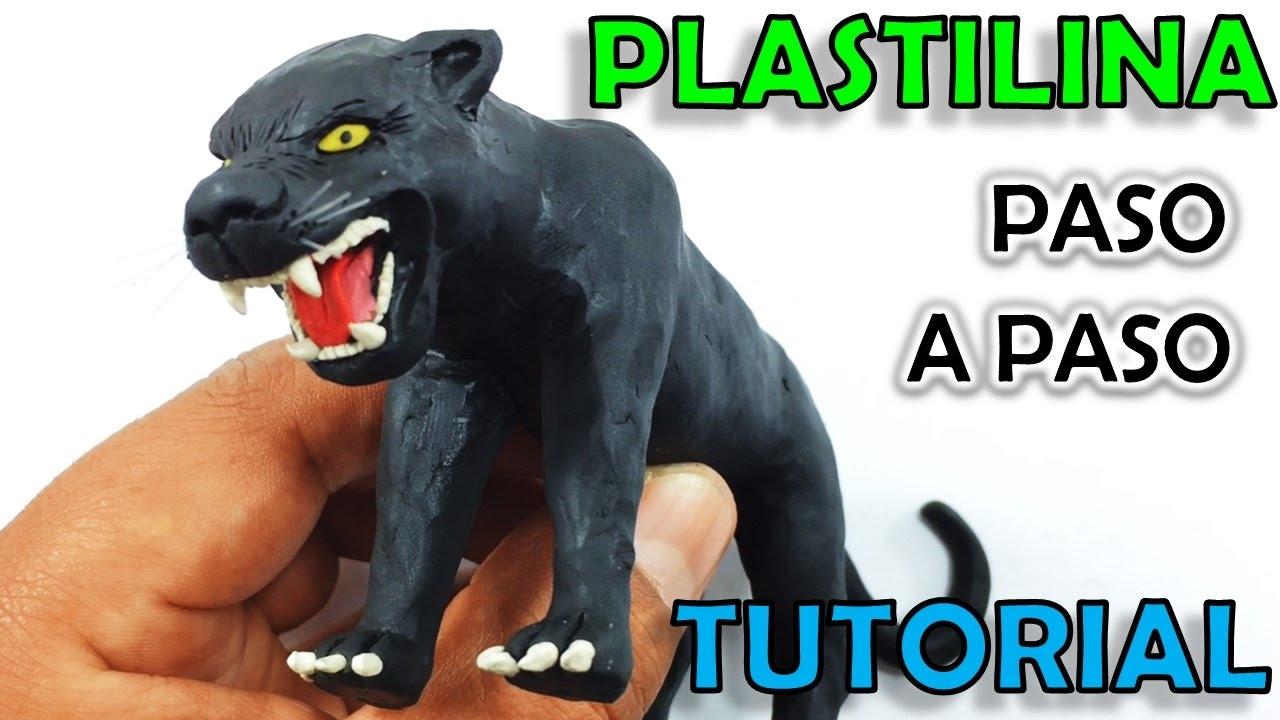 Como hacer una pantera negra de plastilina paso a paso mi for Como hacer una pileta de material paso a paso