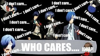 Persona 3: P3MC is Caring