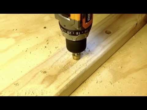 Easy Way To Enlarge Drilled Hole