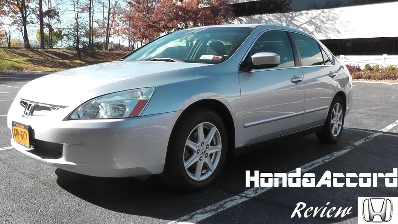Used Car Review: 2003 Honda Accord LX 2.4 VTEC   YouTube