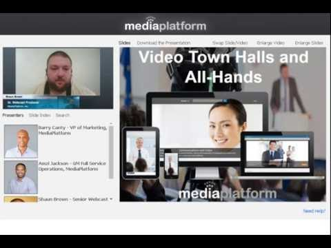 Getting Started with Video Town Halls and All-Hands