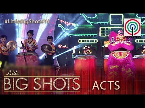 Little Big Shots Philippines: Sicat Lion Dancers