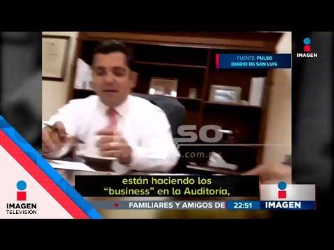Video expone corrupción de alcaldes de San Luis Potosí   Noticias con Ciro Gómez Leyva