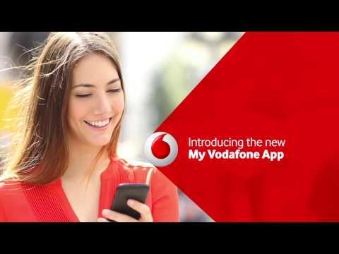 The NEW My Vodafone App