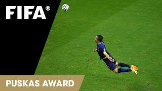 Robin van Persie Goal: FINALIST FIFA Puskas Award 2014