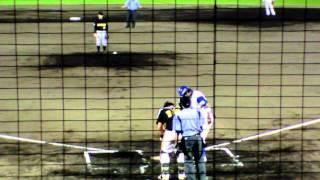 2012 9月11日(火)金沢市民野球場 IKAIKA MAUI Players Eri Yoshida.