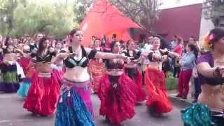 Tribu Urban Lotus en el Carnaval 2015