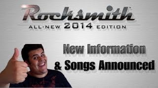 Rocksmith 2014 - New Features and Updated Tracklist