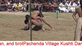 Pachenda Village Kushti Dangal by Yudhisthir , Arjun Pahalwan and brothers