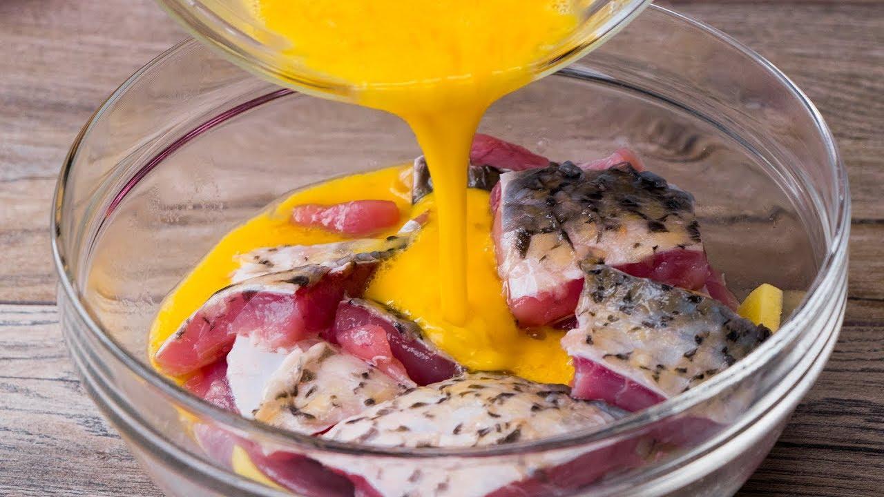Больше не готовлю рыбу по-другому. Идеальный рецепт!| Appetitno.TV