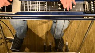 amazing grace on the e9 pedal steel guitar