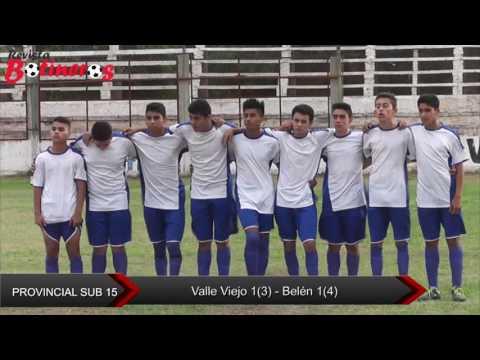 Belén Campeón Provincial Sub 15  2016