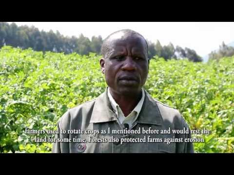 Interview with a farmer in Rwanda