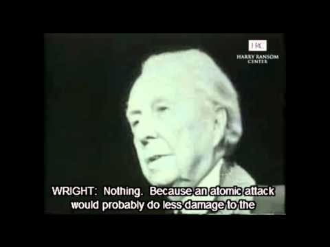 Frank Lloyd Wright interview