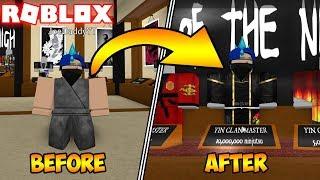 HOW TO INSTANTLY GET MAX NINJUTSU! (ROBLOX Ninja Assassin)