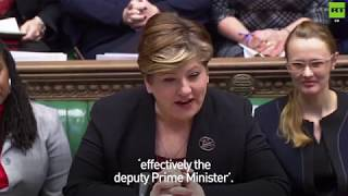 Emily Thornberry brings some banter to the House