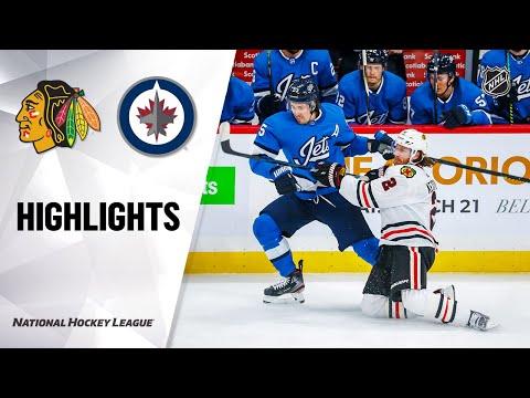 NHL Highlights | Blackhawks @ Jets 02/09/20