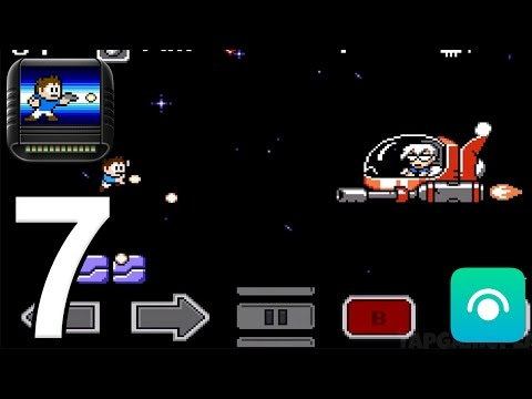 Venture Kid - Gameplay Walkthrough Part 7 - Space Fortress 2, Ending (iOS)