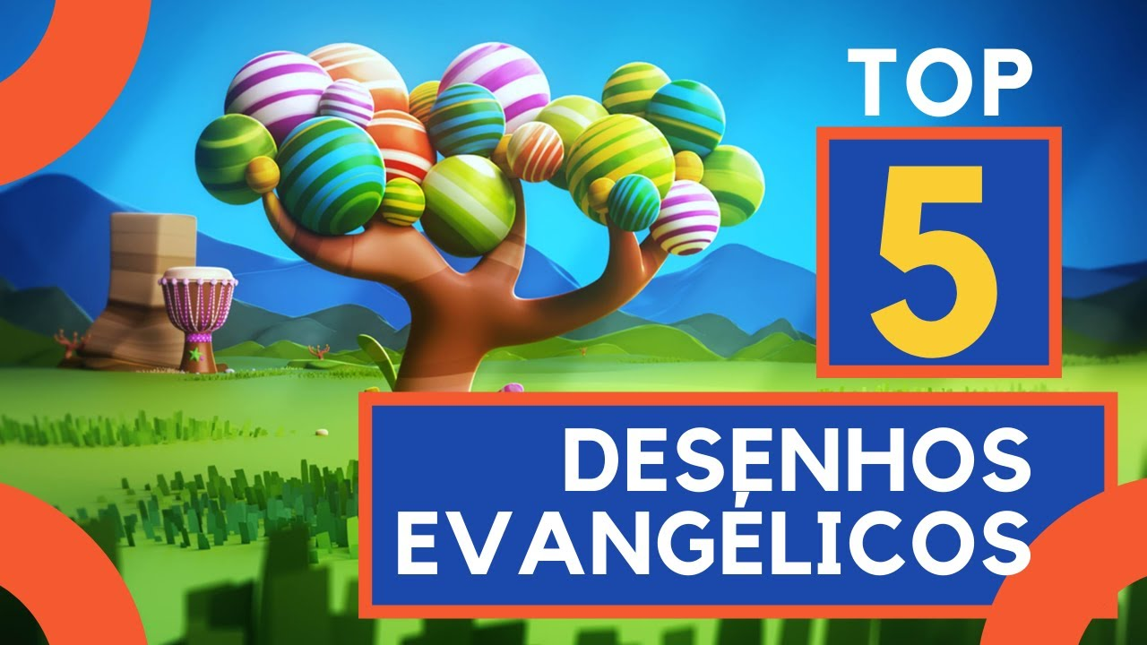 TOP 5  Desenhos evangélicos para crianças