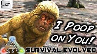 ARK: Survival Evolved - TAMING A MESOPITHECUS! E73 ( Monkey / Gameplay )