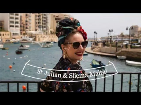 MALTA TRAVEL VLOG: St Julians and Sliema