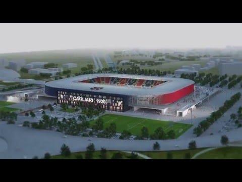 #lanostraCasa, il nuovo stadio del Cagliari Calcio
