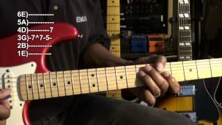 Quik Blues Licks #1 Beginner Guitar Solo Lesson BLUES Quick Licks Resimi