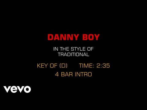 Traditional Irish Song - Danny Boy (Karaoke)