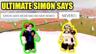 the HARDEST JAILBREAK SIMON SAYS EVER!!! | Roblox Jailbreak New Update Live