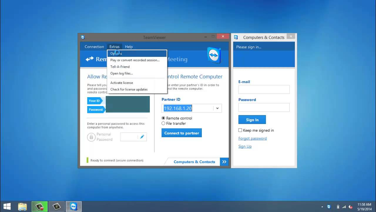 How to start Teamviewer with windows startup automatically