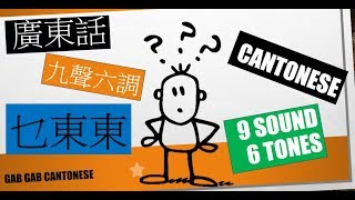 Beginner Chinese Cantonese : 9 tone Practice (Lesson 2)