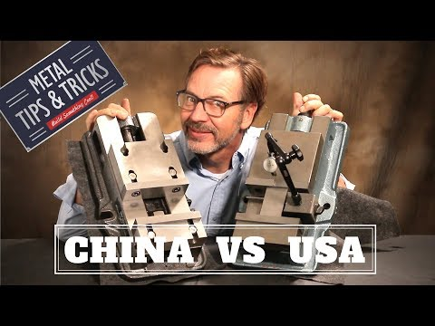 China Vs USA       Machinist Vise