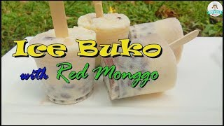 Ice Buko With Red Monggo