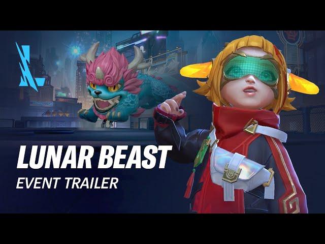 Lunar Beast | Official Event Trailer - League of Legends: Wild Rift