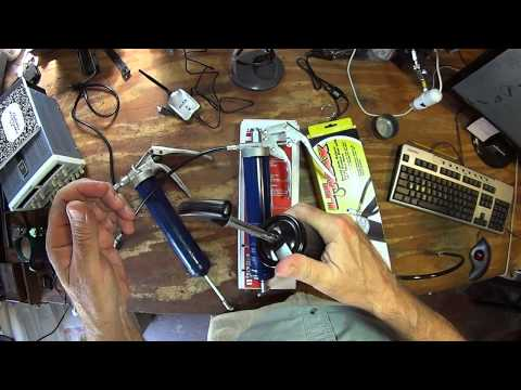 Lincoln 1133, 1134, and Lumax LX-1152 Grease Gun Overview