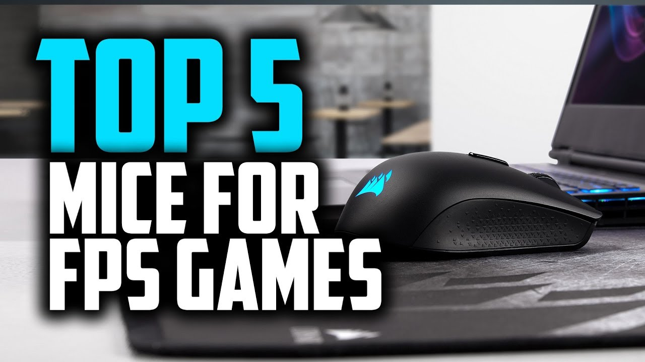 Best Mouse For FPS Games in 2019 | Top 5 Mice For Gaming