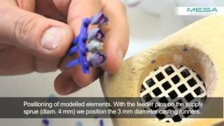 Индукционное литье металлом MESA
