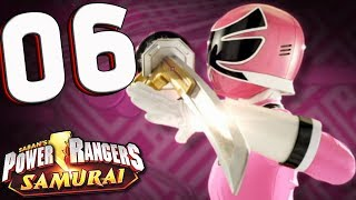 Power Rangers Samurai: Part 6 Spell on Blue! Nintendo Wii (co-op) Walkthrough